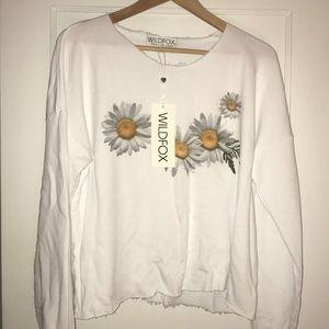 WildFox daisy sweater